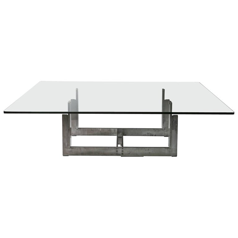 """Sarpi"" Low Table by Carlo Scarpa for Simon"