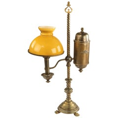 Late 19th Century, Argand Table Oil Lamp