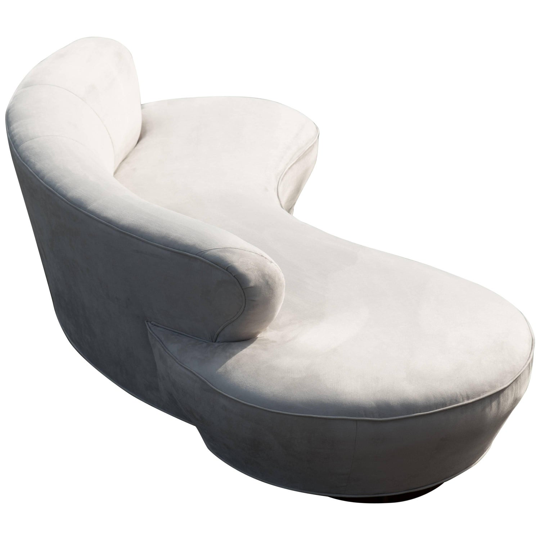 Serpentine or Cloud Sofa in the Manner of Vladimir Kagan at 1stdibs