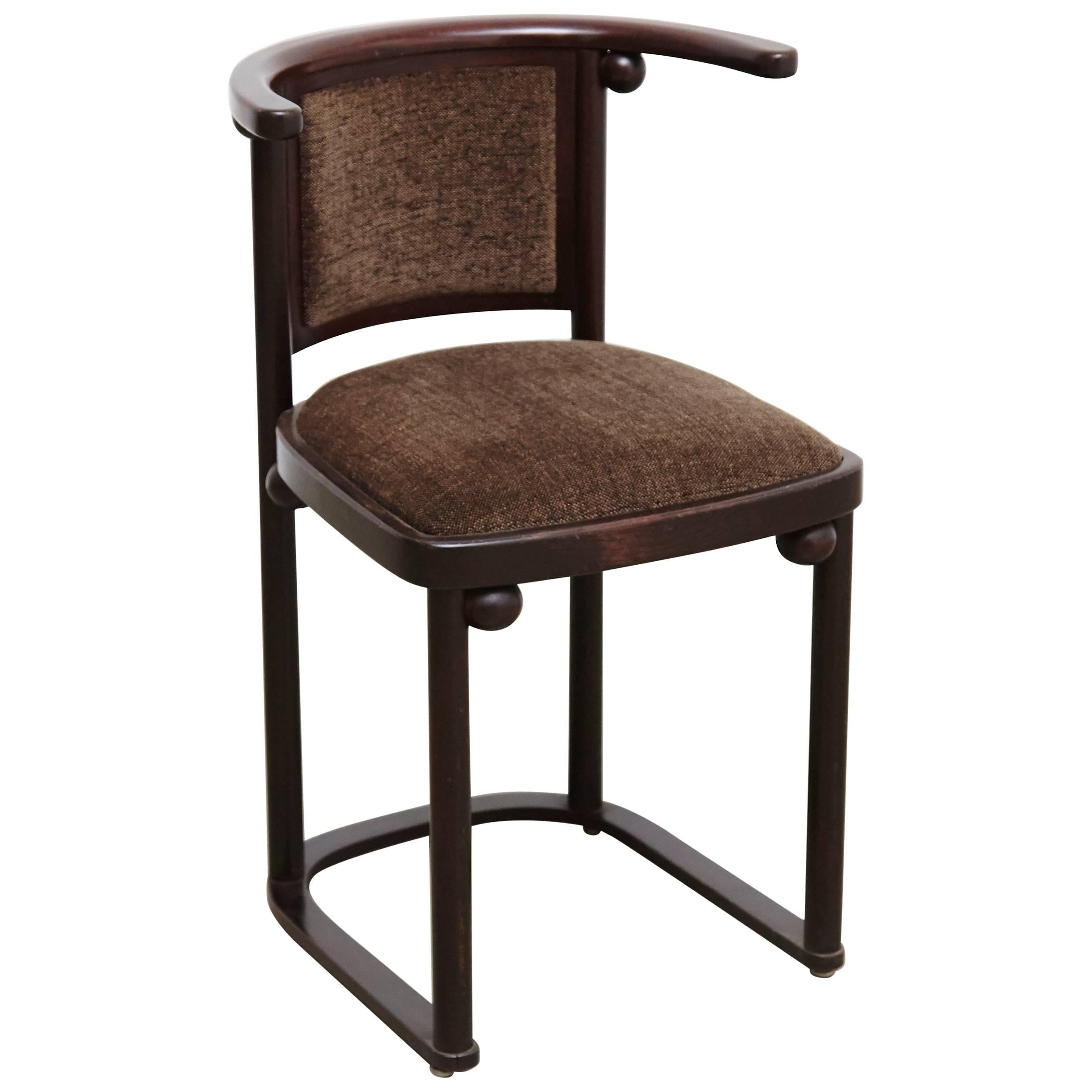 Superieur Josef Hoffmann Cabaret Fledermaus Chair For Sale