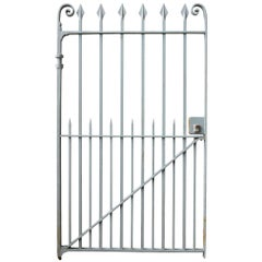 Late 19th Century Wrought Iron Pedestrian Gate