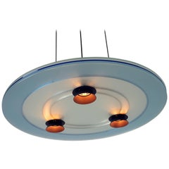 4 ' Aurora ' Halogen Chandelier from Arteluce, 1983, Italia