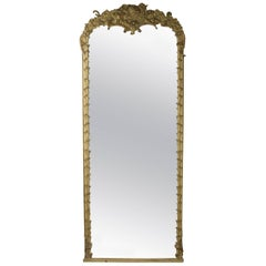 19th Century Monumental Baroque Style Mirror
