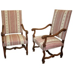 19th Century French Pair of Armchairs