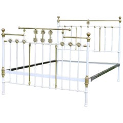 Decorative Brass and Iron Bed MU38
