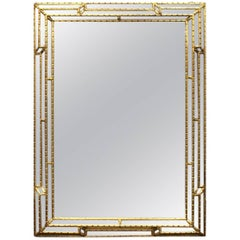 Gilt Framed Venetian Mirror