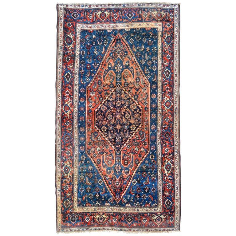 Late 19th Century Antique Persian Bidjar Rug