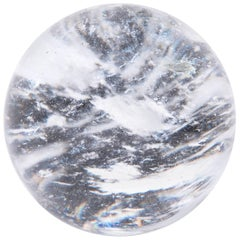 Chinese Rock Crystal Sphere