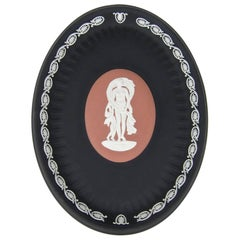 Venus and Cupid Oval Tray Signed by Lord Wedgwood