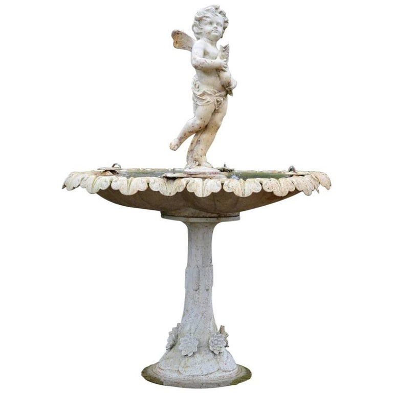 French Figural Fountain