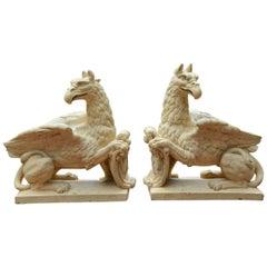 Terracotta Griffins