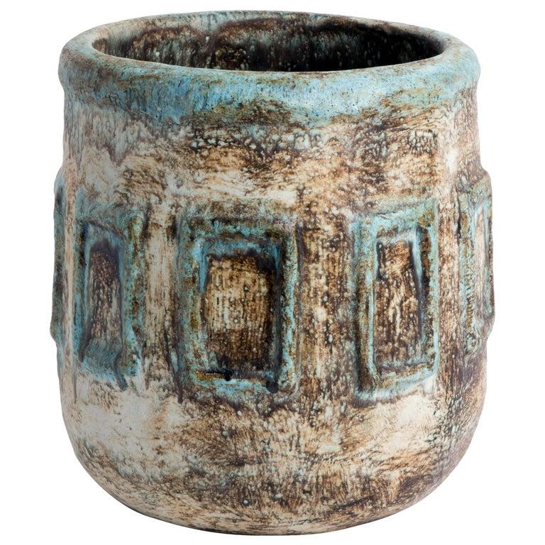 Vintage, 1970s Ceramic Pot For Sale