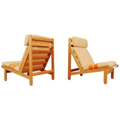 "Pair of Bernt Petersen ""Rag"" Lounge Chairs"