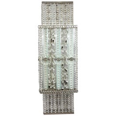 Majestic Stunning Fully Restored Big Wall Sconce by Bakalowits Vienna, 1910