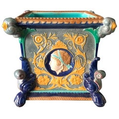Minton Square Planter with Medallions