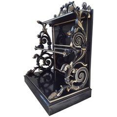 19th Century Waterfall Bookcase