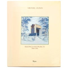 Michael Graves Buildings and Projects 1966-1981, First Edition
