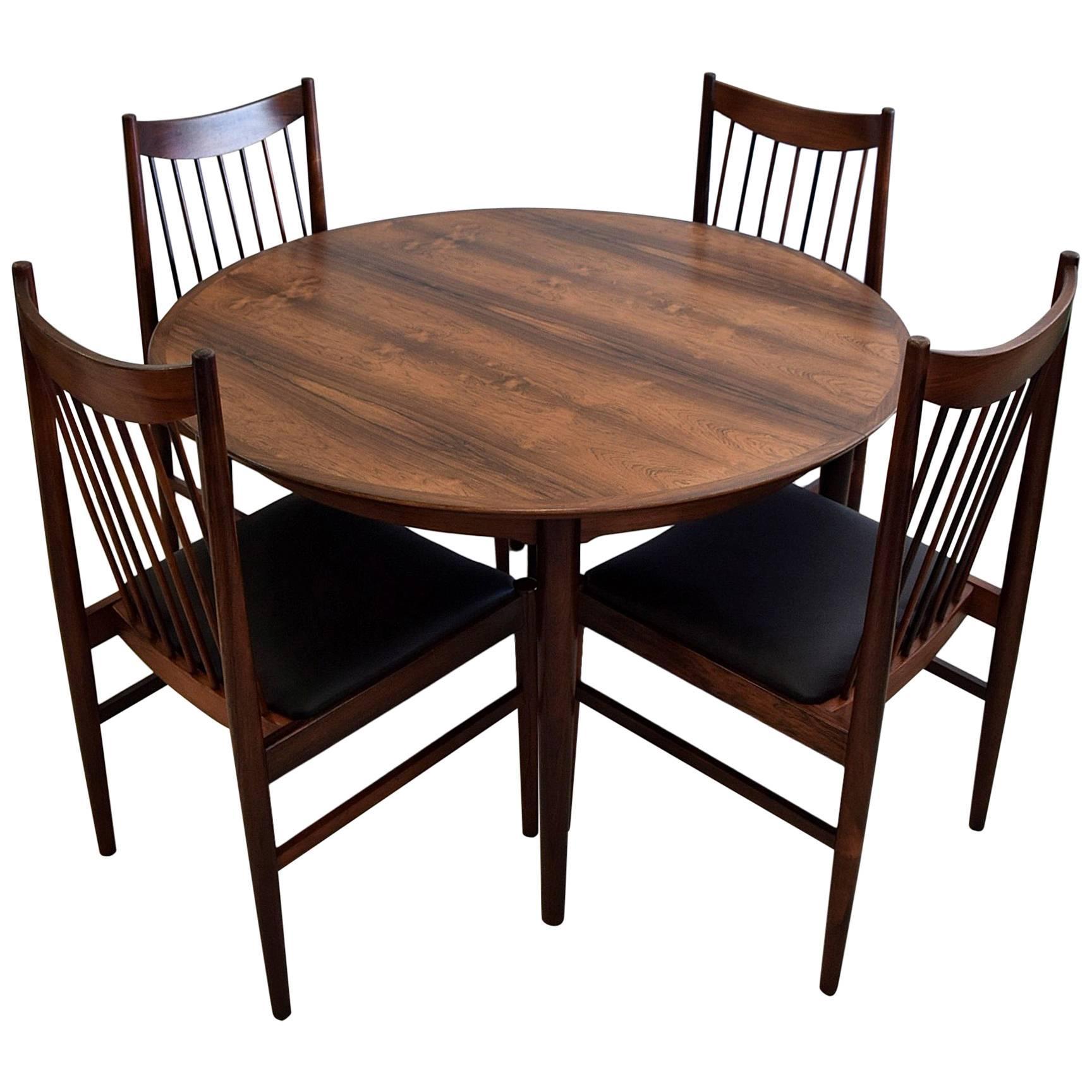 Arne Vodder Mid Century Modern Mahogany Dining Room Set