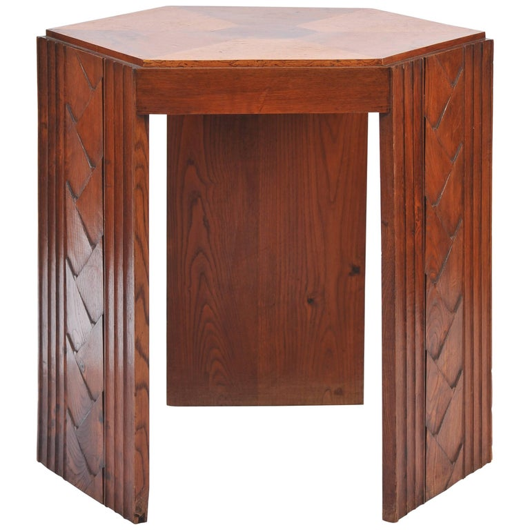 French Art Deco Guéridon Table