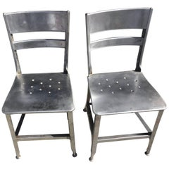Large Lot Steel Toledo Chairs 4-100