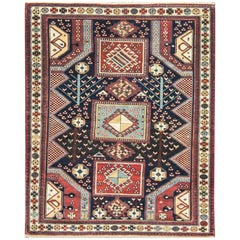 Incredible Antique Caucasian Baku Rug