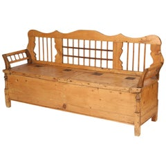 Continental Pine Settle