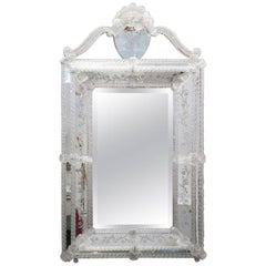 Vintage Italian Venetian Mirror