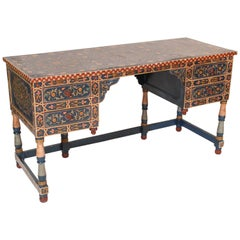 Colorful Moroccan Style Knee Hole Desk