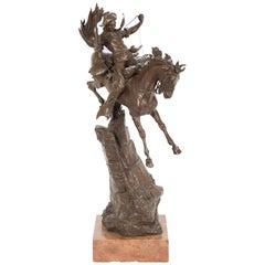 "Austrian Bronze by Carl Kauba Titled ""Scout"""