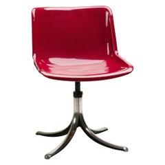 Set of Three Tecno Modus Chairs Designed by Osvaldo Borsani