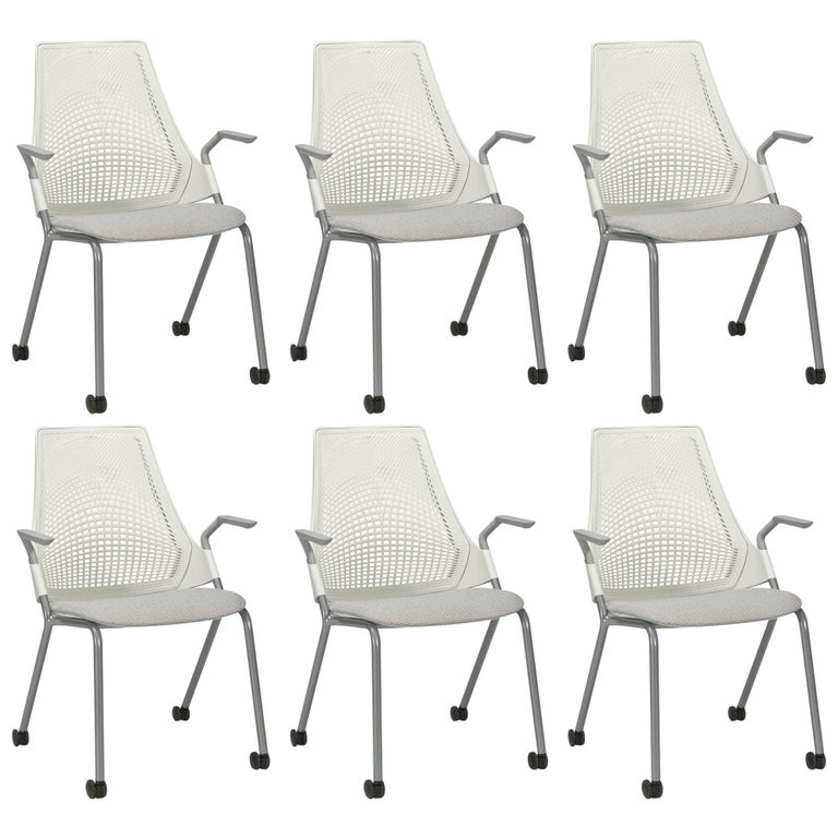 Sayl Task Chairs on Casters by Yves Béhar for Herman Miller
