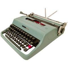 "1960s Italian Olivetter ""Lettera 32"" Typewriter"