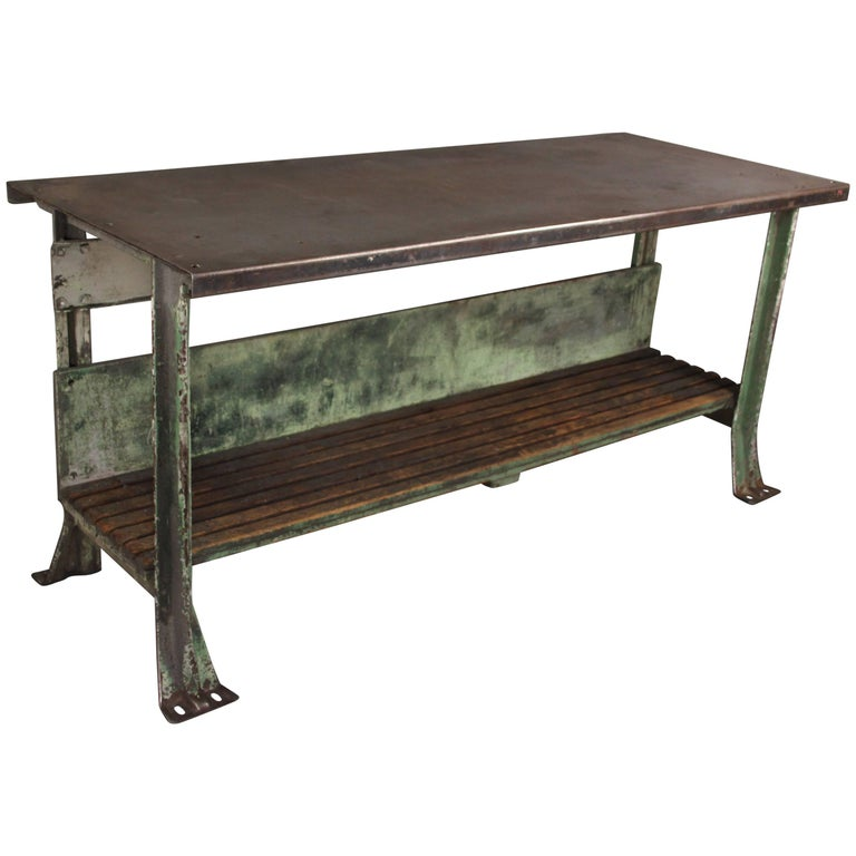 Antique French Kitchen Work Table