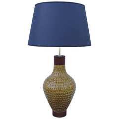 1960s Large Table Lamp by Raymor