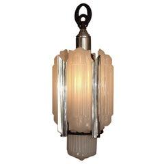 1930s Lightolier Luxart Chandelier