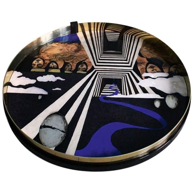 'Commencement' Unique Accessory - Decorative Tray from Egli Design For Sale