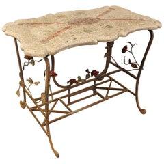Art Deco Terrazzo Table, France