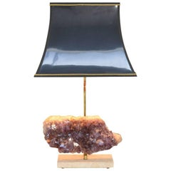 Decorative Amethyst Table Lamp
