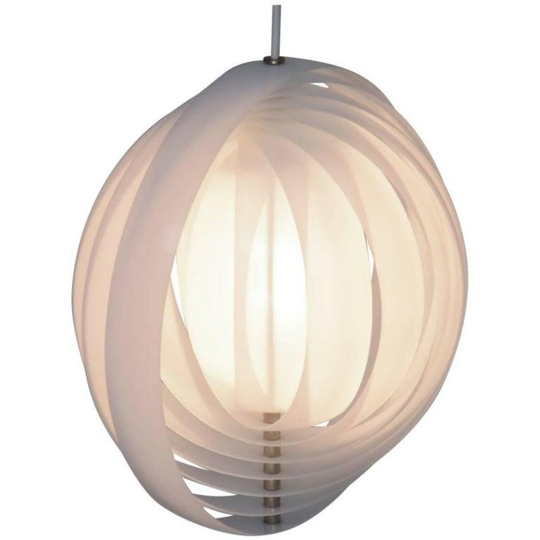 Magic Visor Moon Lamp by Verner Panton for Louis Poulsen