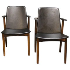 Pair of Armchairs in Rosewood by Hans Olsen, 1960s