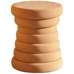 Boum Hue, Cork Stool by Philippe Cramer for Le Point D - Contemporary Furniture