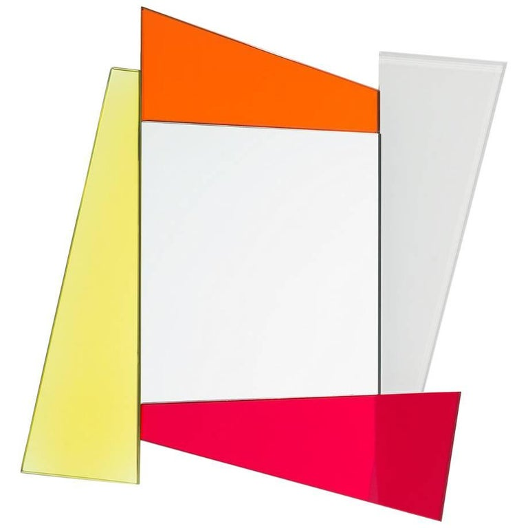Ettore Sottsass Mirror for Glas Italia
