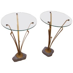 Pair of Art Deco Design Tables