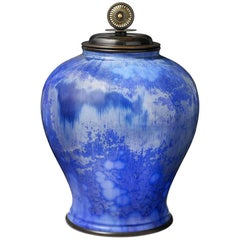 Large And Impressive Danish Private Collection Vase