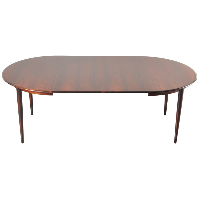 Two-Leaf Extendable Dining Table by Arne Vodder for Sibast, Denmark 1960