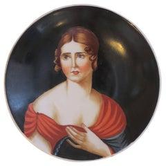 Vintage Portrait Italian Jewelry or Trinket Dish