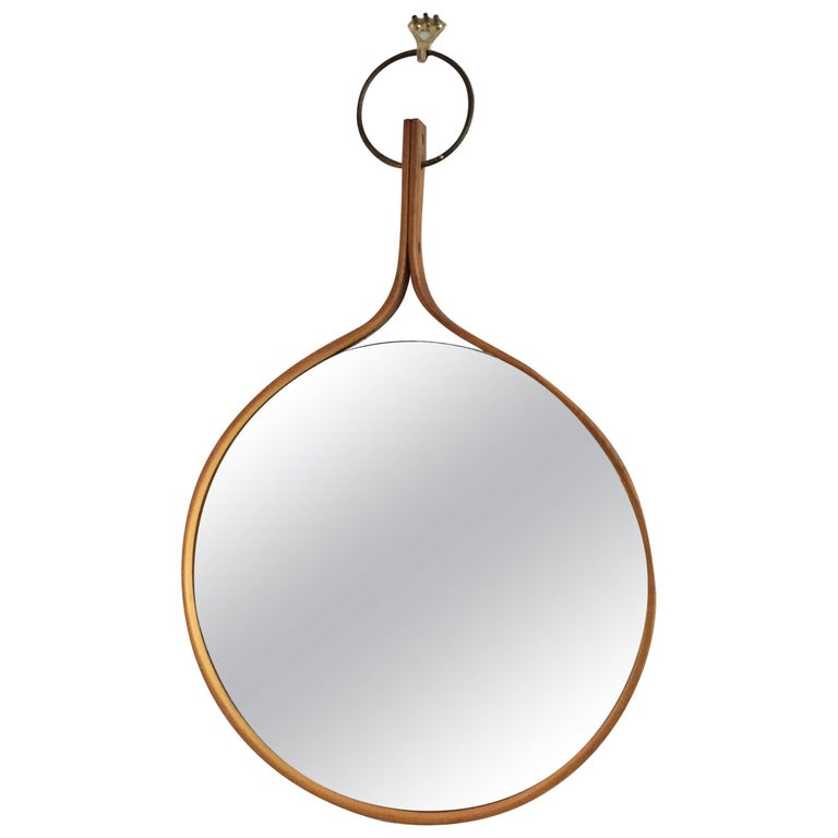Hans-Agne Jakobsson Wall Mirror For Sale