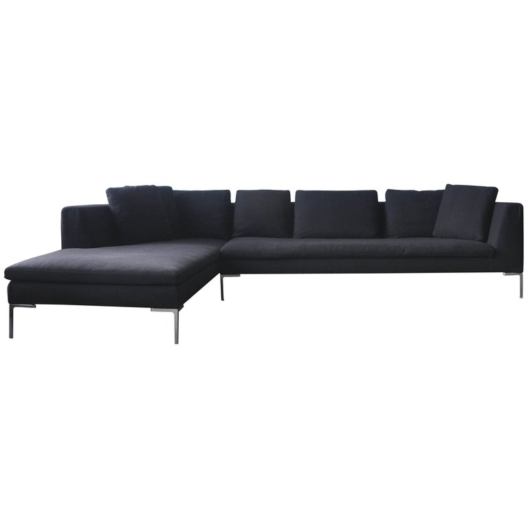 B And B Italia Charles Sofa By Antonio Citterio For Sale At 1stdibs