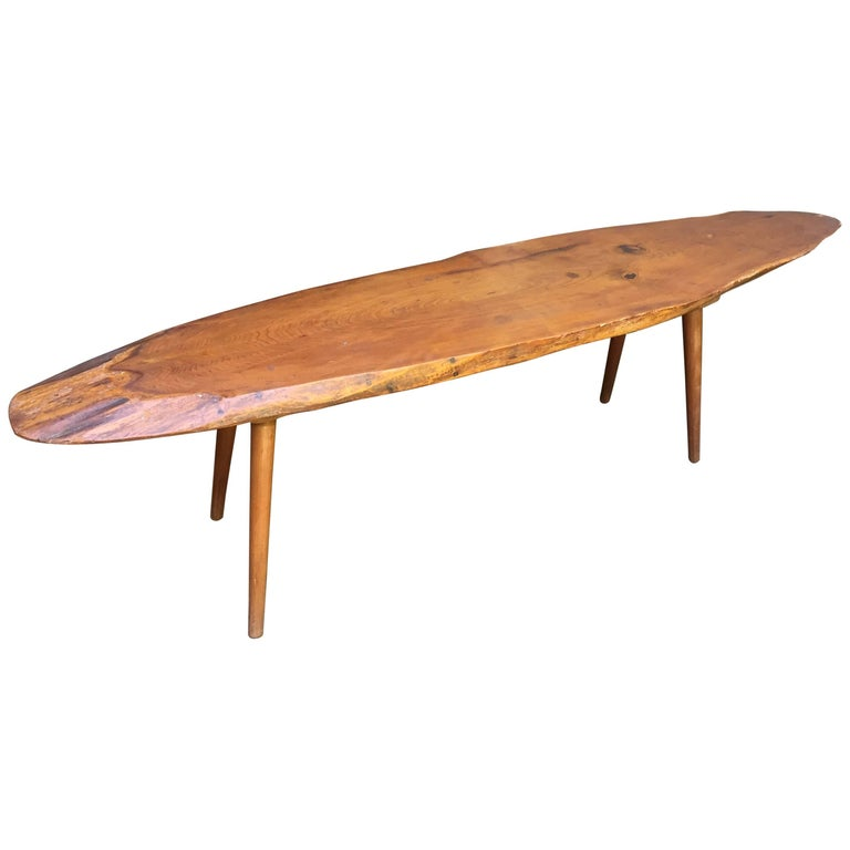 Roy Sheldon Free Edge Cocktail or Coffee Table 1