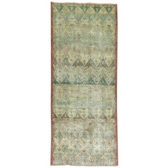 Shabby Chic Turkish Konya Vintage Runner